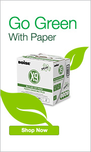 Go Green with paper