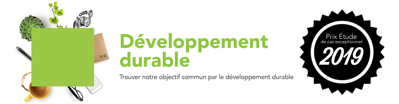 Développement durable. Trouver notre objectif commun par le développement durable