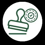 custom stamp icon
