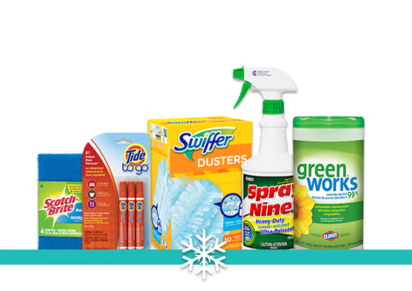 cleaning product collection