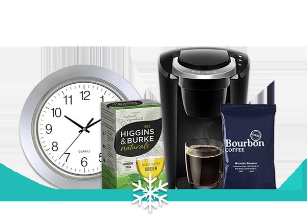 coffee and tea product collecion