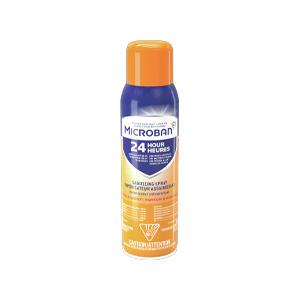 Microban 24-Hour Sanitizing Aerosol Spray