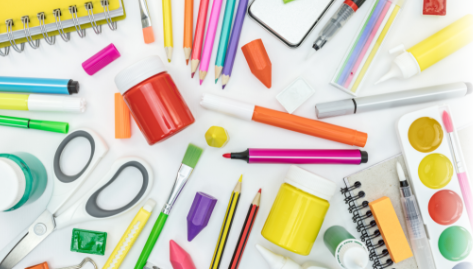 Kids Crafting Supplies