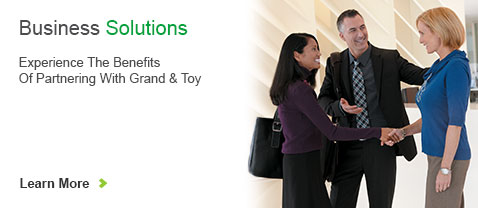 Business Solutions. Experience The Benefits Of Partnering With Grand And Toy