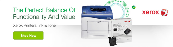 The Perfect Balance Of Functionality And Value. Xerox Printers, Ink & Toner. Shop Now.