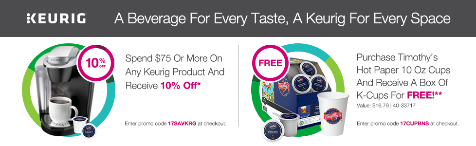 Keurig: A Beverage For Every Taste. A Machine For Every Space