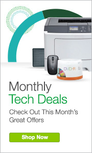 Monthly Tech Deals