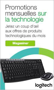 Promos mensuelles sur la technologie