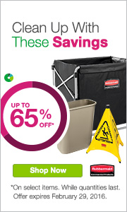 Clean Up With These Savings